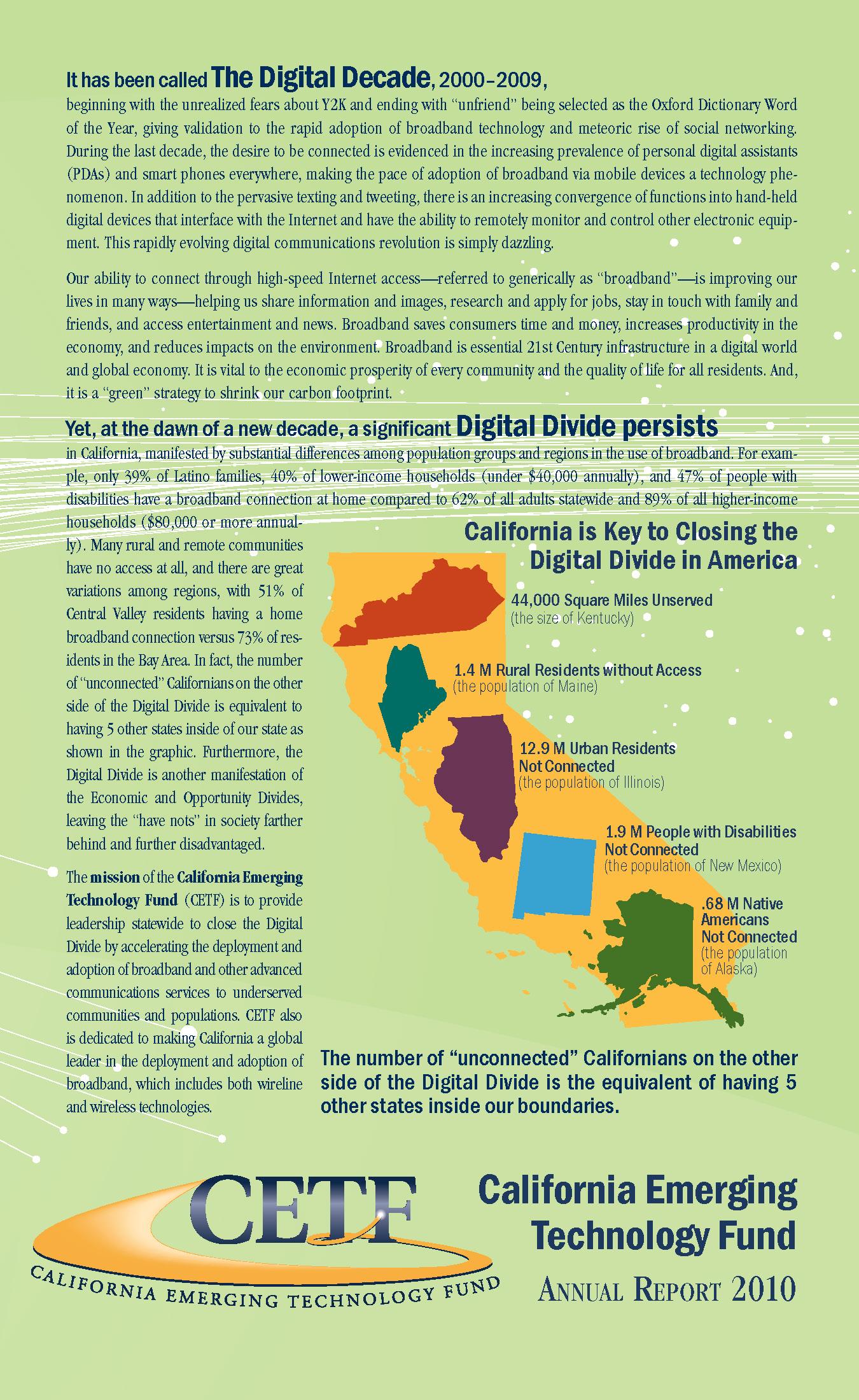 CETF Annual Report 2010