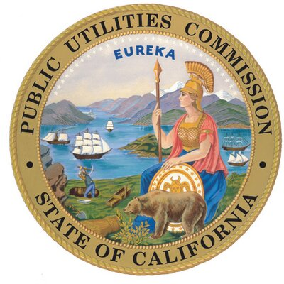 State of California Public Utilities Commission LOGO