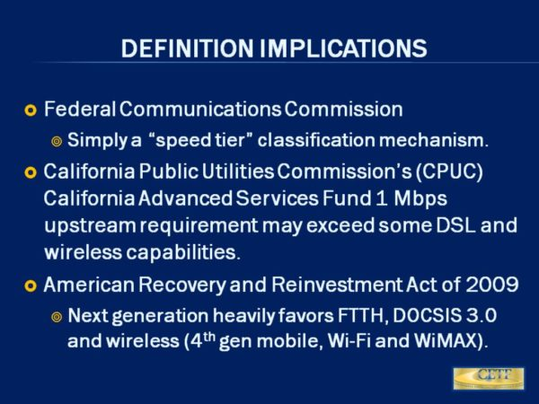 graphic CETF definition of FCC