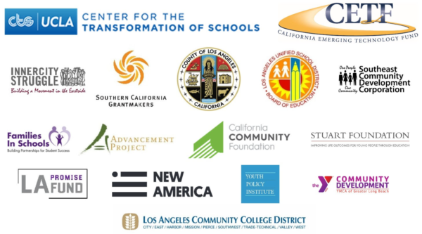 Collage of logos that have partners with CETF to support Neighborhood Transformation