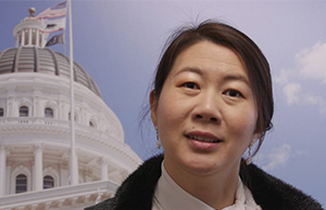 California Department of Technology Director Amy Tong