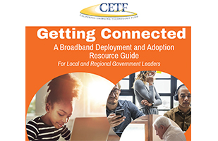 Getting Connected - A Broadband Deployment and Adoption Resource Guide For Local and Regional Government Leaders Cover